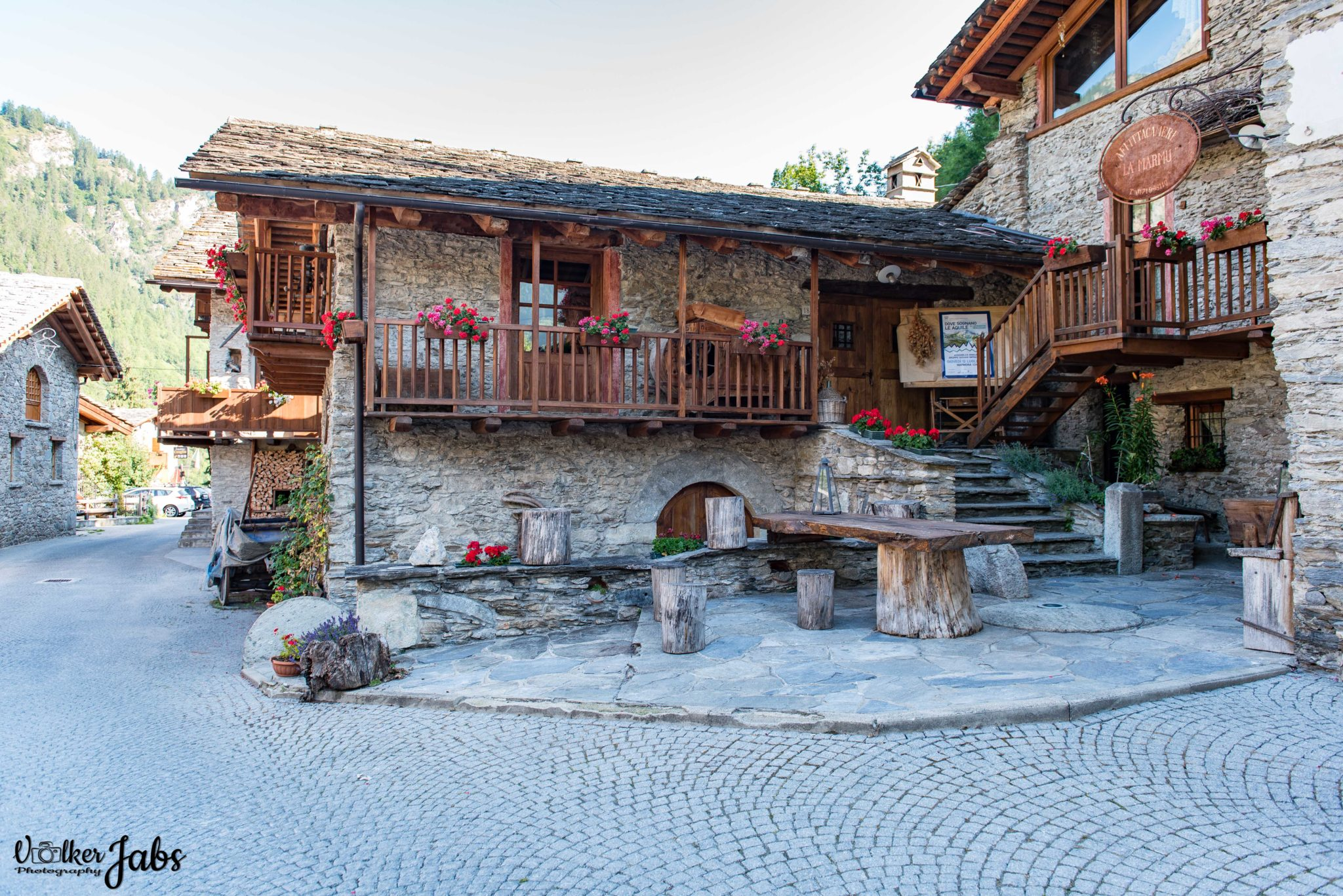 Bergdorf im Valle Maira