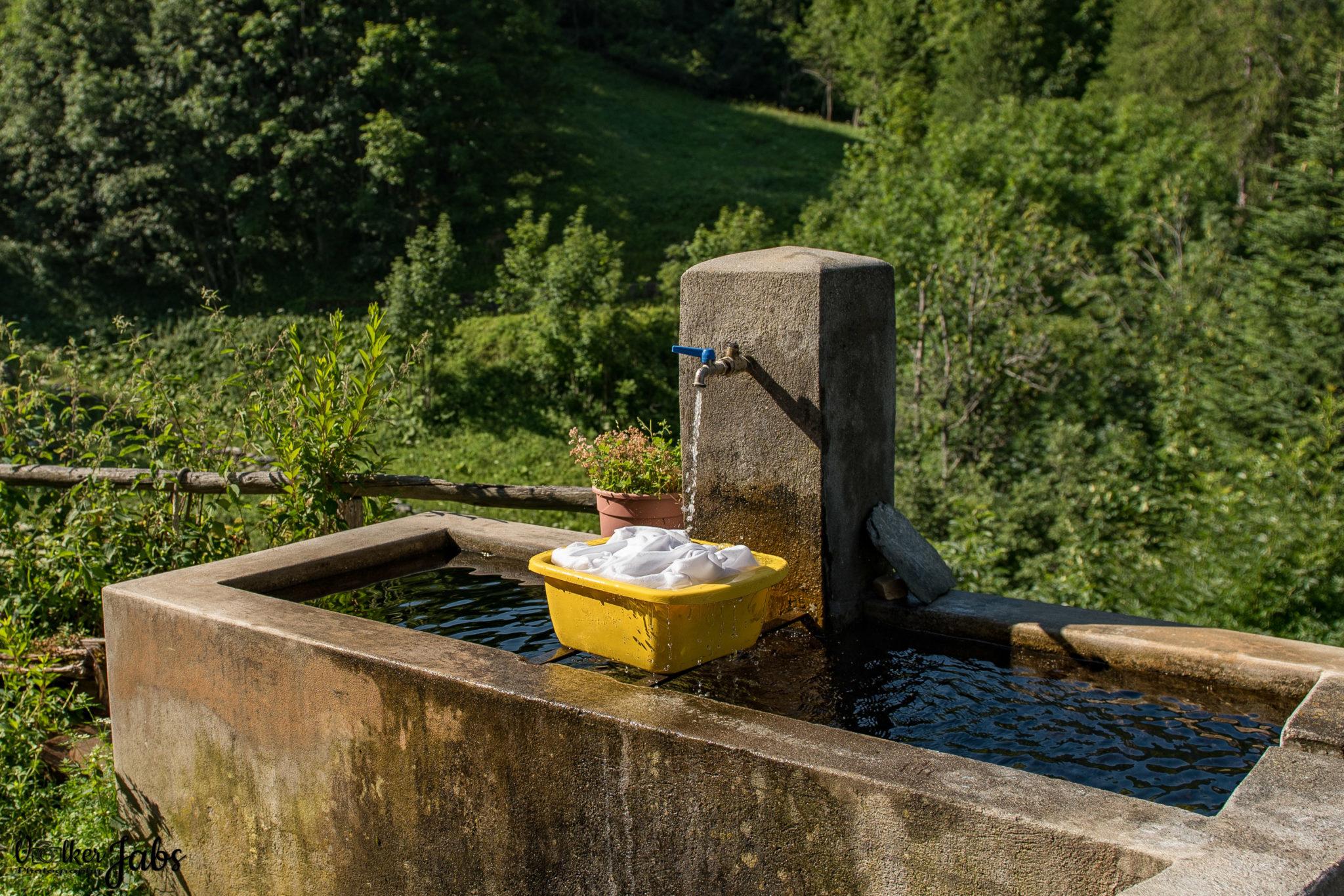 Waschtag im Valle Maira