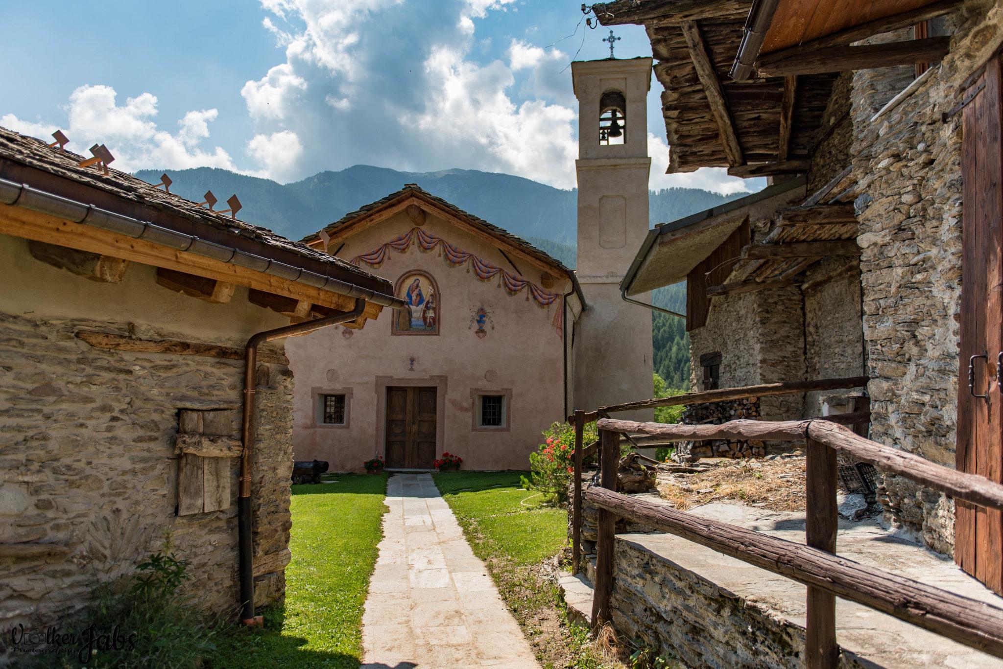 Dorf im Valle Maira