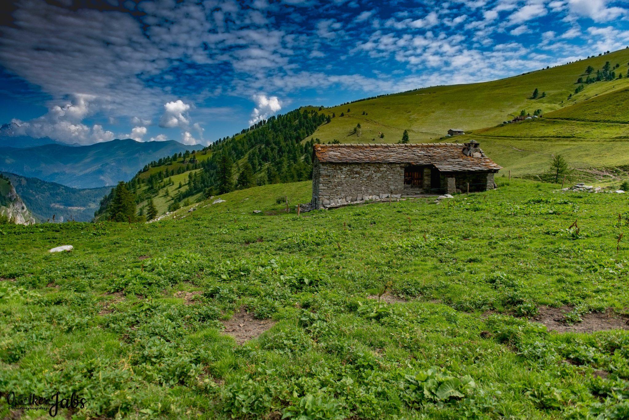 Alte Hütte im Valle Maira