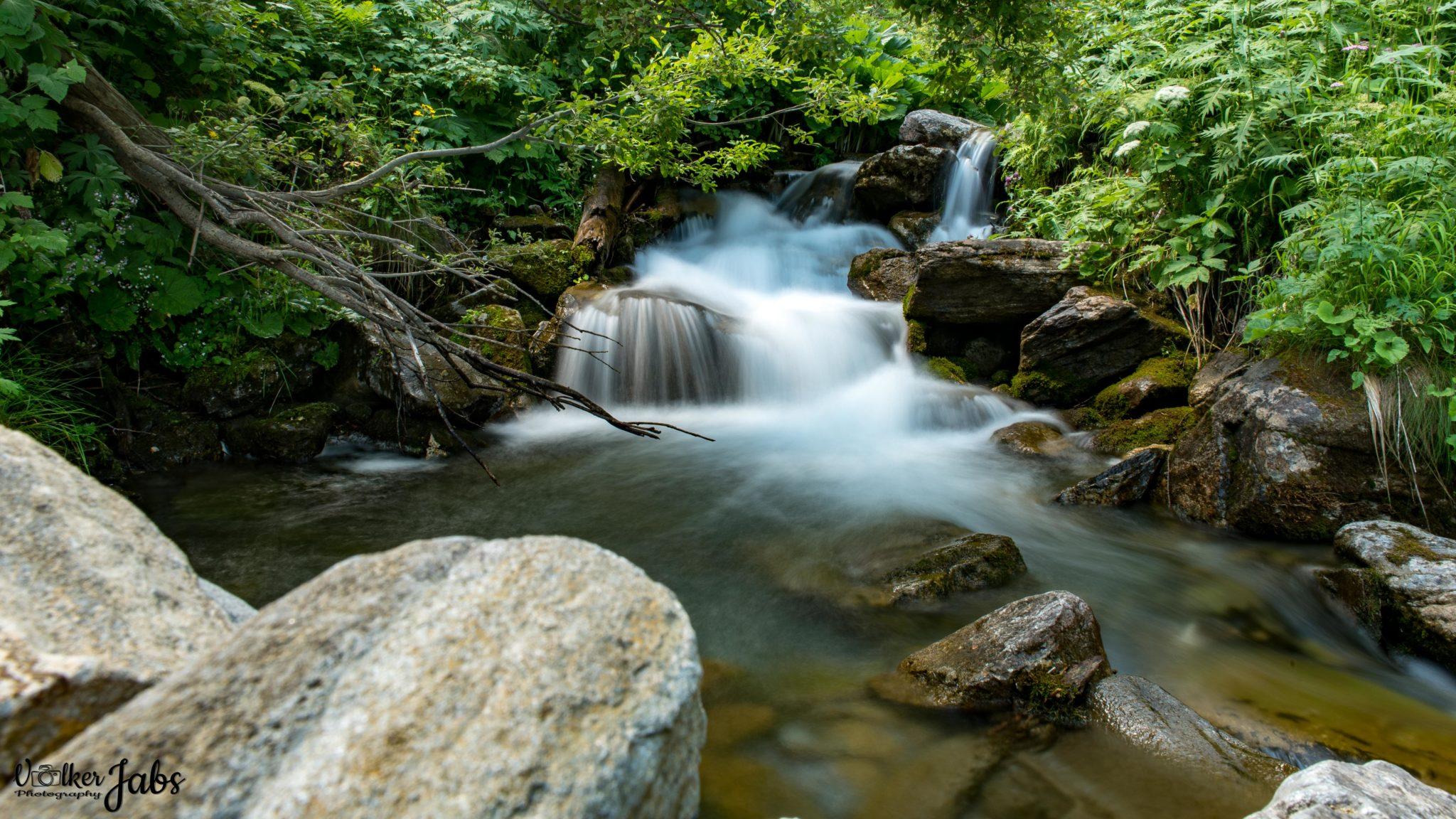 Bachlauf im Valle Maira