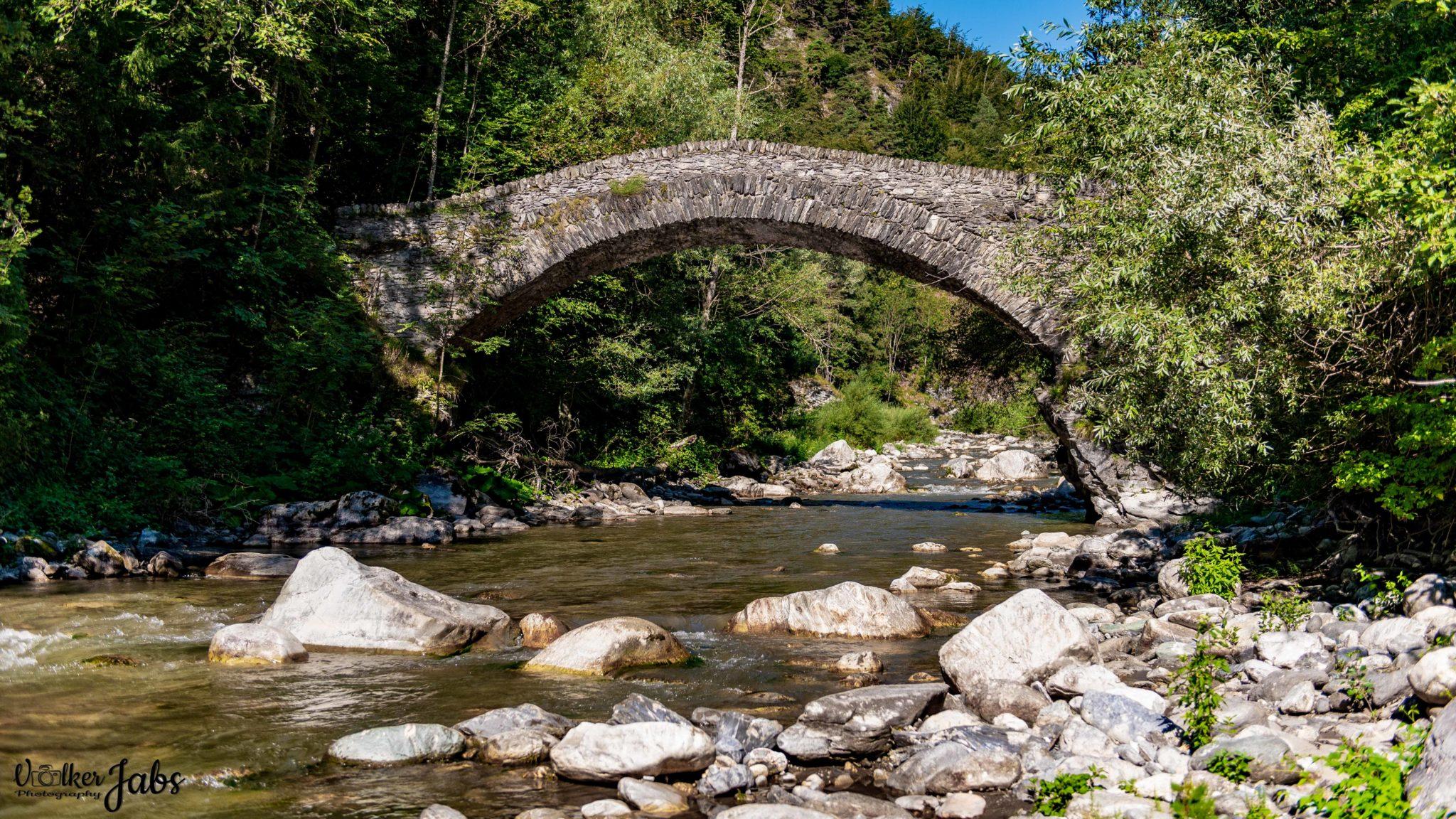 Ponte di Napoleone im Valle Maira
