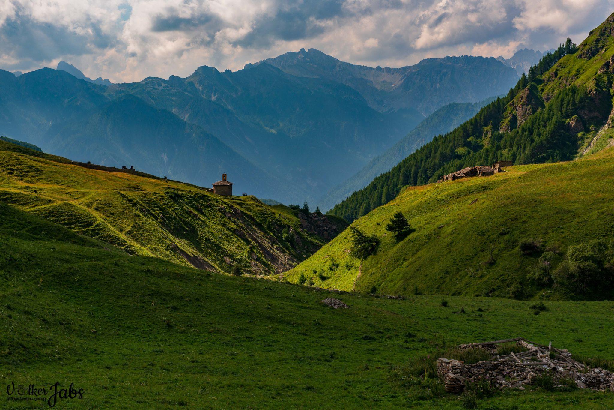 Berglandschaft im Valle Maira