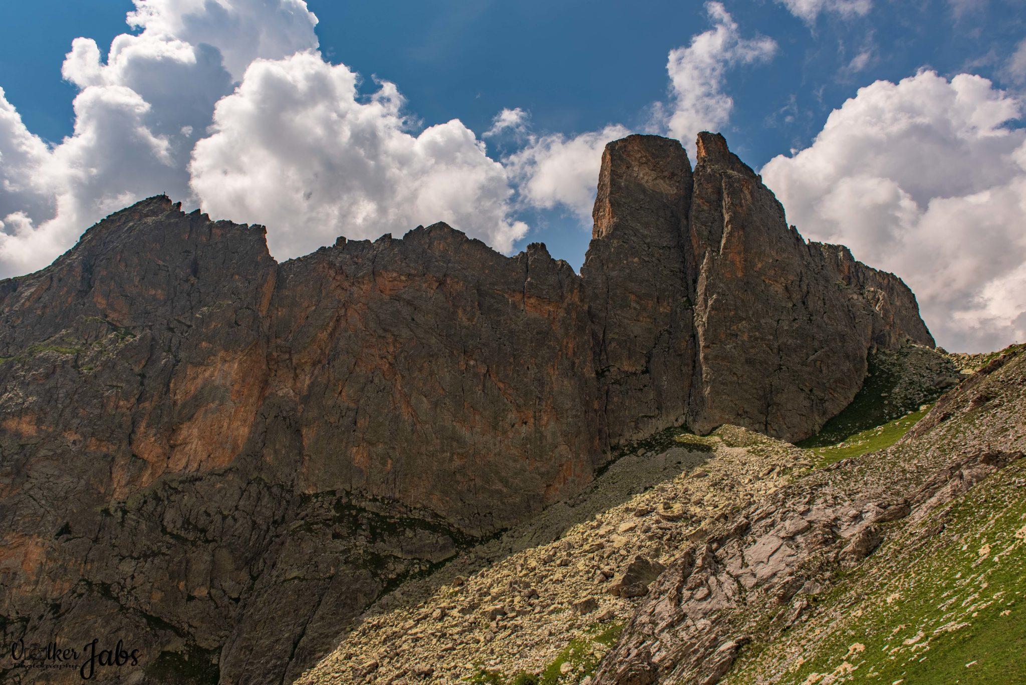 Bergblick im Valle Maira