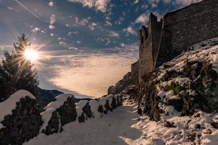 Burg Ehrenfels am Fernpass