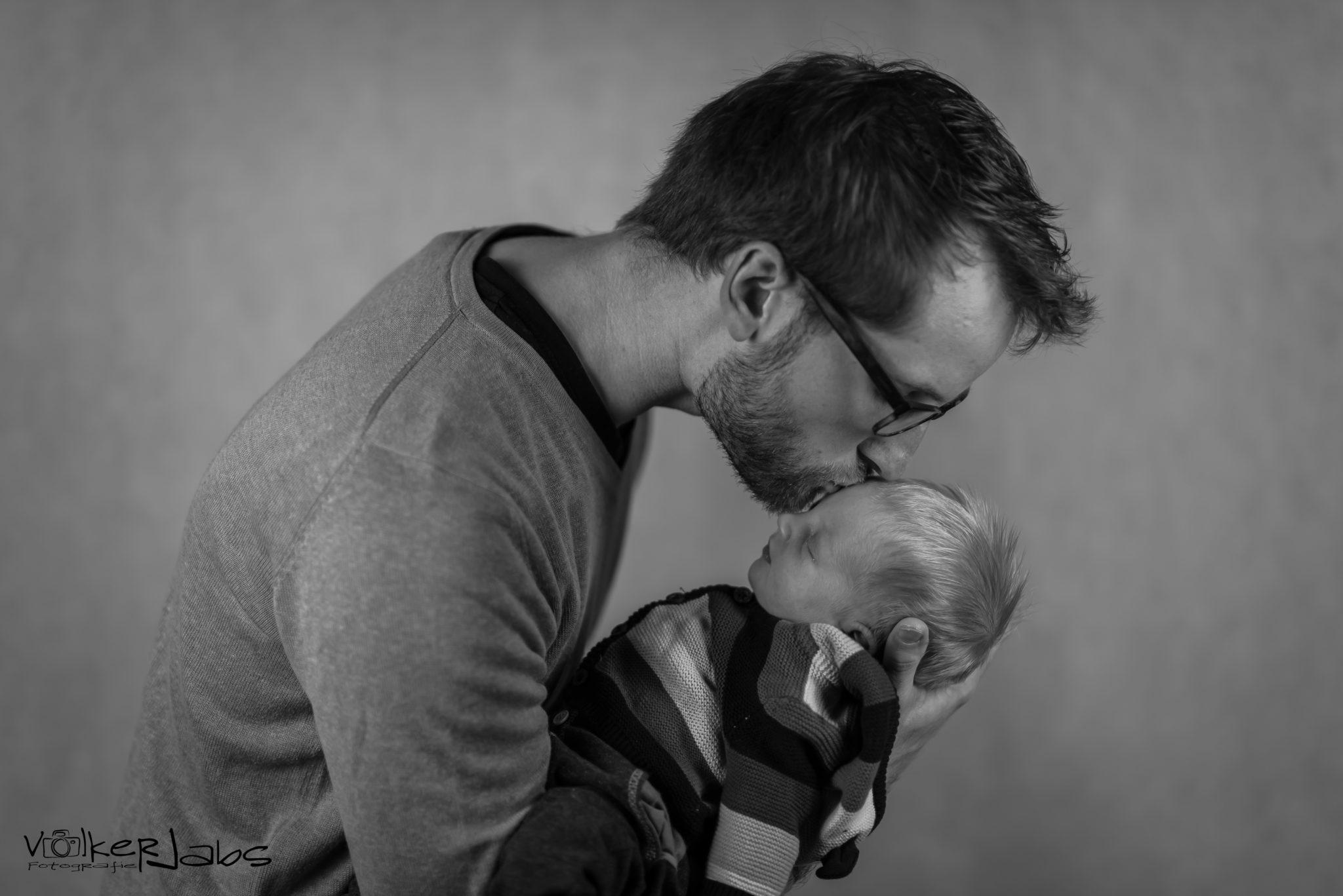 Babyshooting mit Hannes und seinem Papa