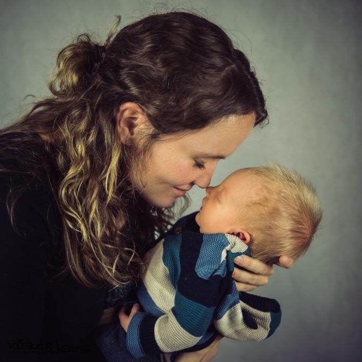 Babyshooting mit Hannes und seiner Mama