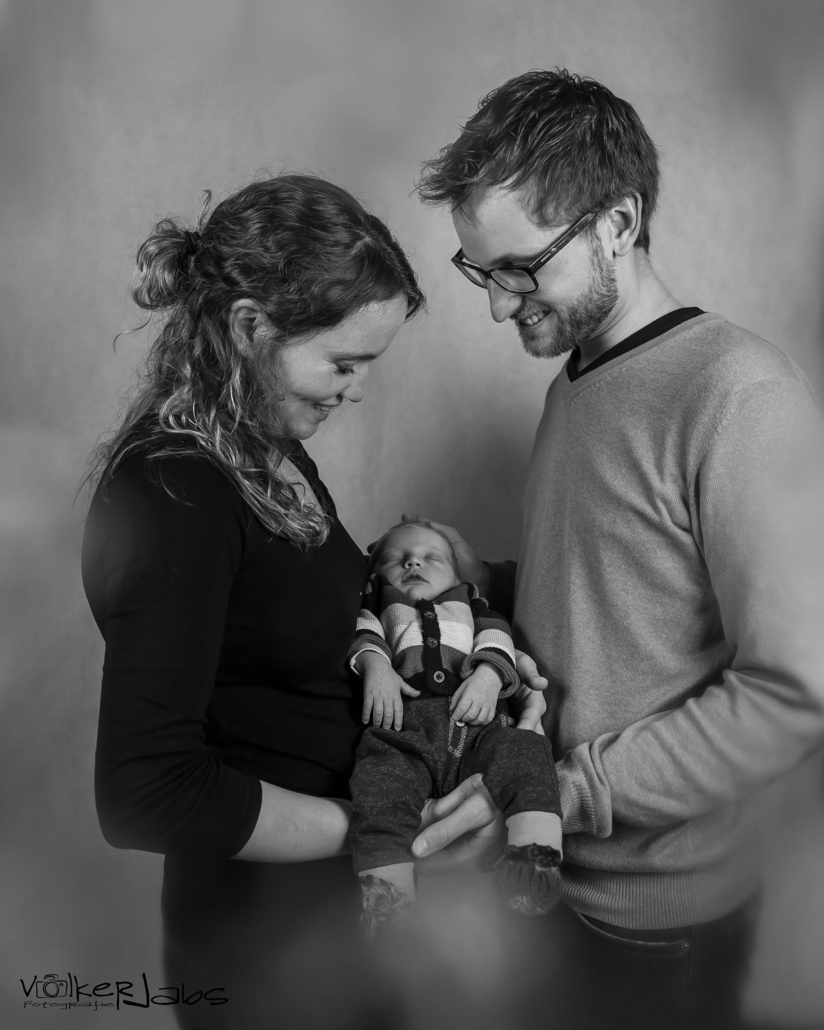 Babyshooting mit Hannes und seinen Eltern