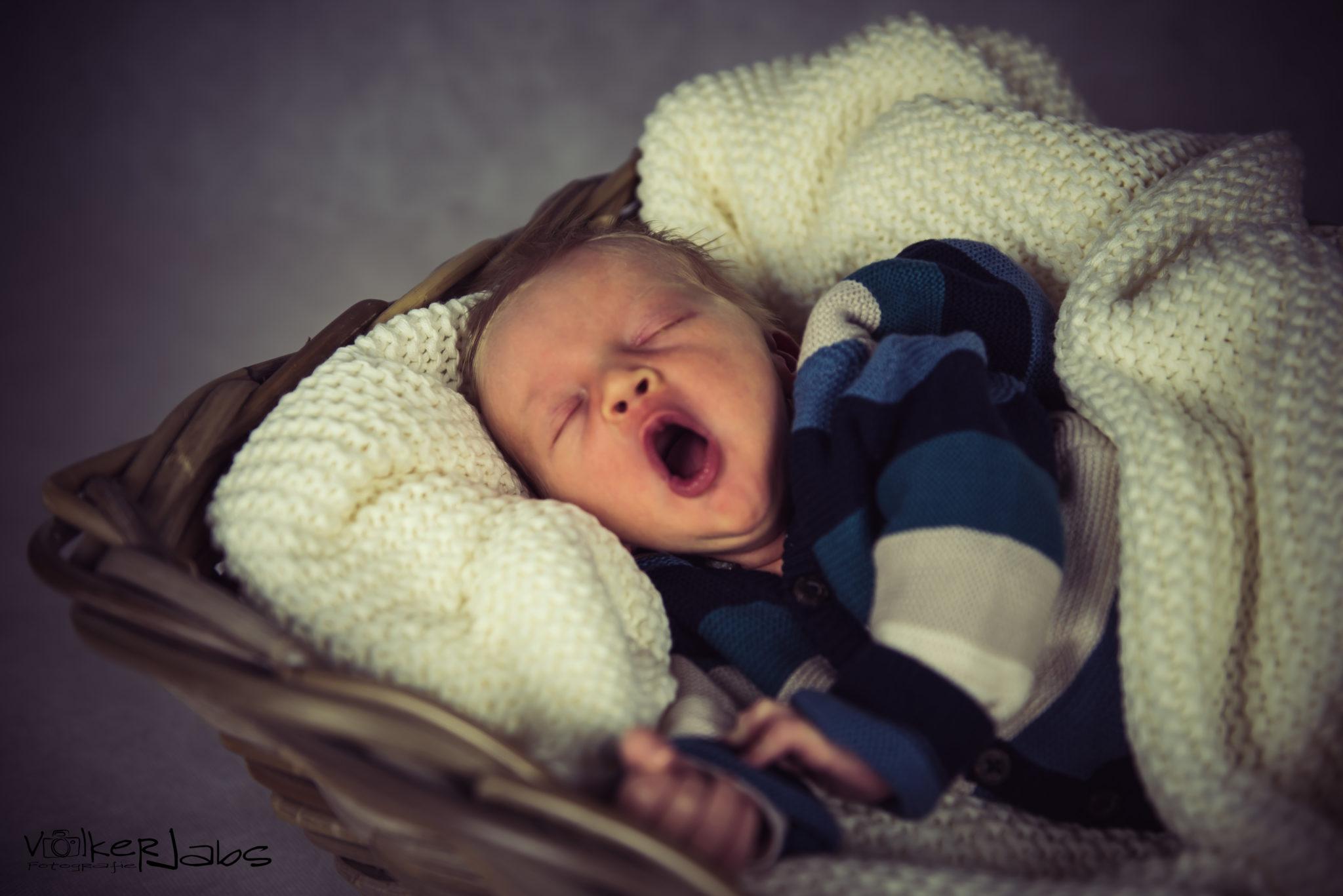Babyshooting mit Hannes