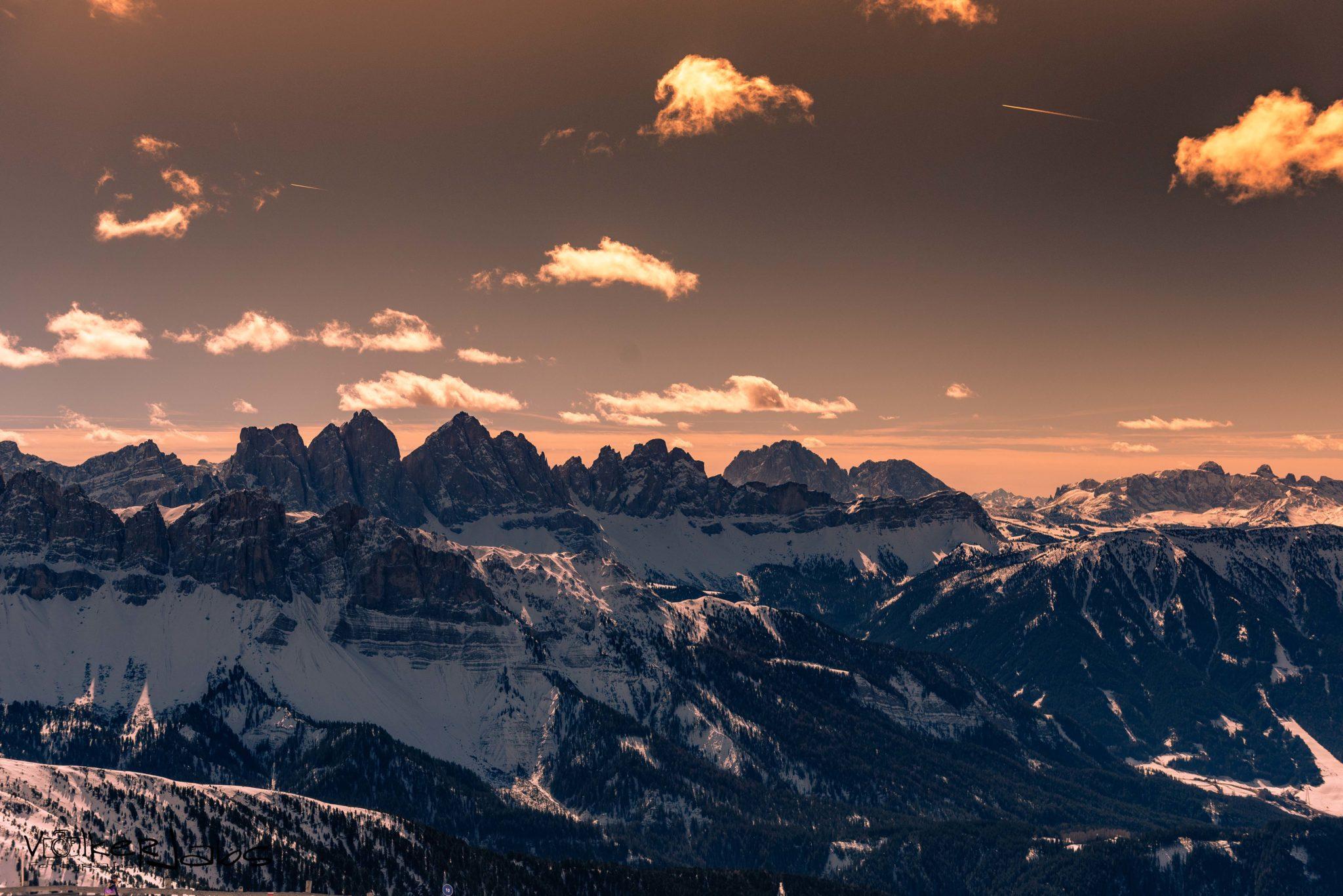 Bergblick von der Plose