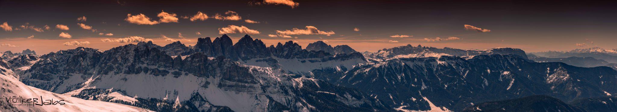 Bergpanorama nahe Brixen